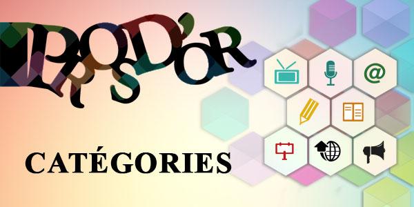 Pros d'or 2017 les catégories pour les inscriptions