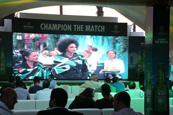 En photos : Heineken se surpasse pour la demi-finale UEFA Champions League