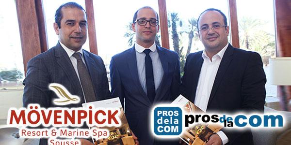 En vidéo : Convention de partenariat avec le Moevenpick Sousse pour les Pros d'Or 2017