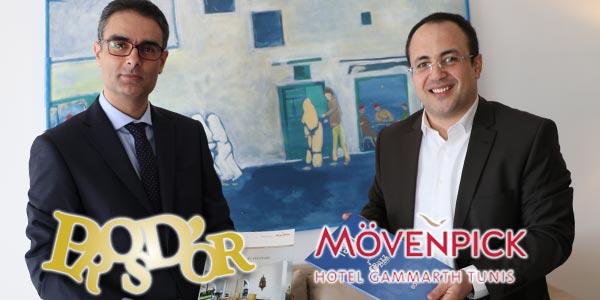 En vidéos : Convention de partenariat avec le  Mövenpick Gammarth pour le Jury des Pros d'Or