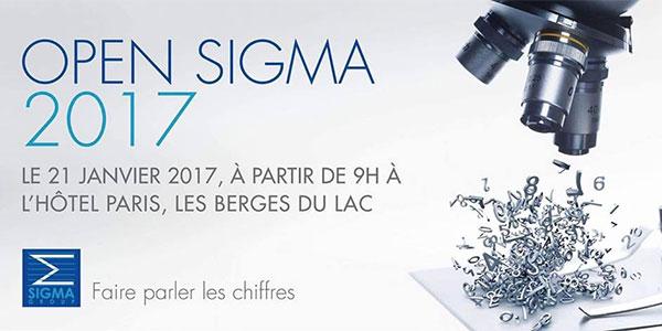 Programme de l'Open Sigma 2017, le Samedi 21 janvier 2017