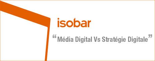 Du média digital vers la stratégie digitale !