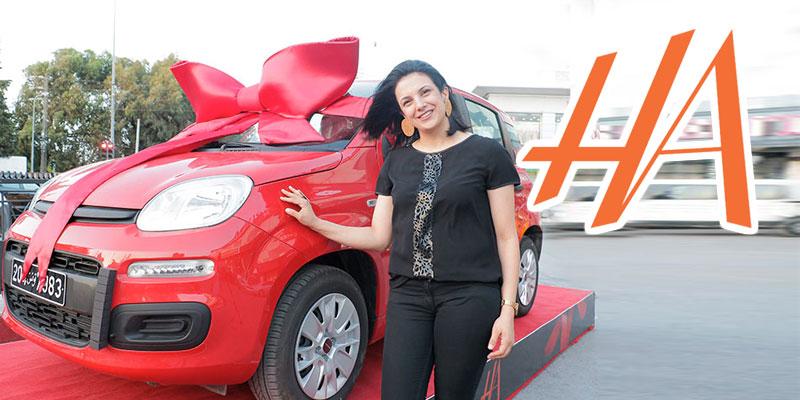 En vidéo : Une cliente fidèle HA gagne une voiture