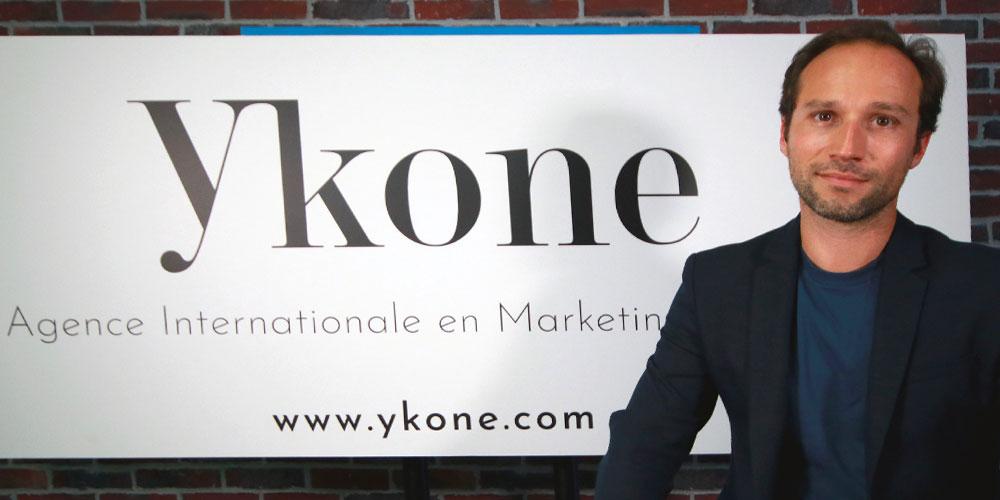 Olivier Billon fondateur de Ykone l'agence d'influence numéro 1 au monde