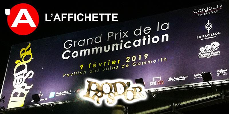 L'Affichette régie d'affichage officielle des Pros d'Or 2019