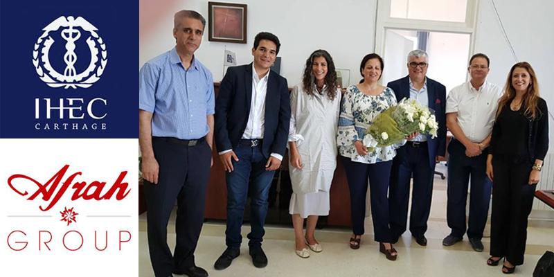 Afrah Group signe un partenariat avec l'IHEC