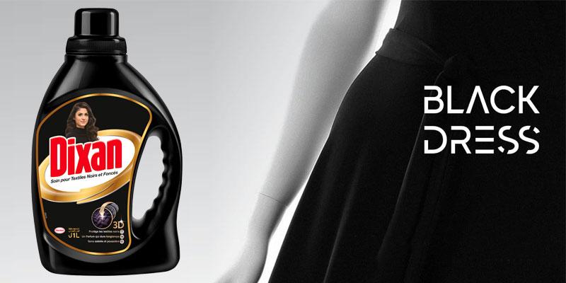 Dixan Black Gel s'associe à Mooja , Concept Store, pour la deuxième édition de ''Black Dress''