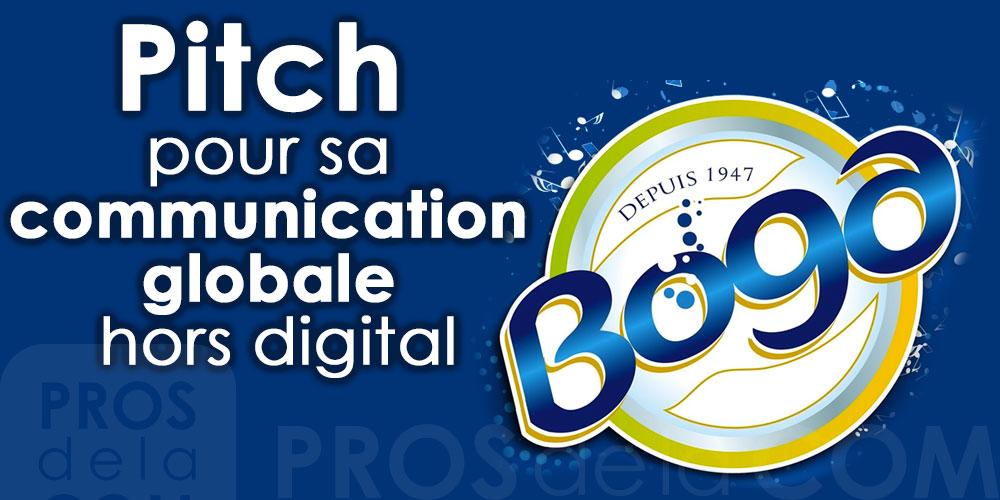 La marque BOGA lance un pitch pour sa communication globale hors digital