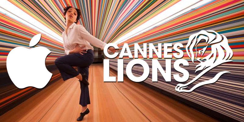 Apple Inc annonceur de l'année aux Cannes Lions 2019