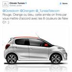 En 2017, Citroën mettra Ooredoo Orange et Tunisie Telecom d'accord pour les couleurs