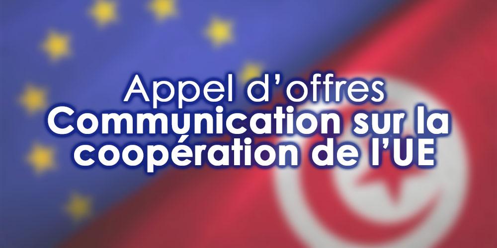 Appel d'offres pour la communication de la coopération de l'Union européenne