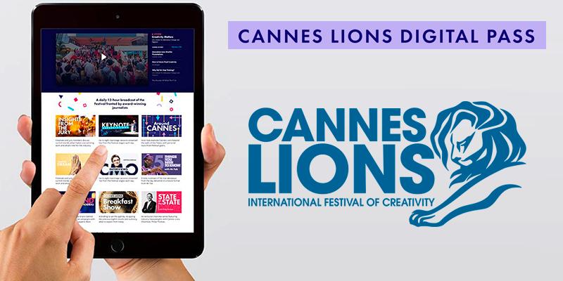 La Cannes Lions Digital Experience depuis votre bureau à 199 Euros