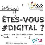 ''àŠTES-VOUS #DIGITAL ? '' Une plénière qui réunira les jeunes dirigeants en Tunisie en présence de Edouard Level