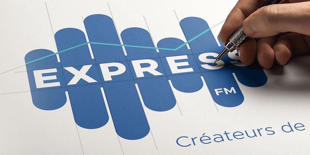 Express FM dévoile sa nouvelle identité visuelle