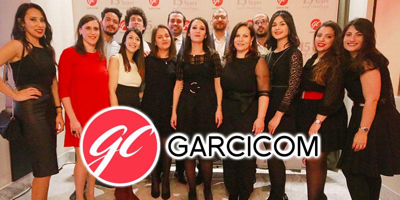 En vidéo : L'agence de conseil en communication GARCICOM célèbre son 15ème anniversaire<