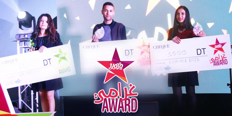 En vidéos: Ghrami Award by Yolo de Délice honore Les talents