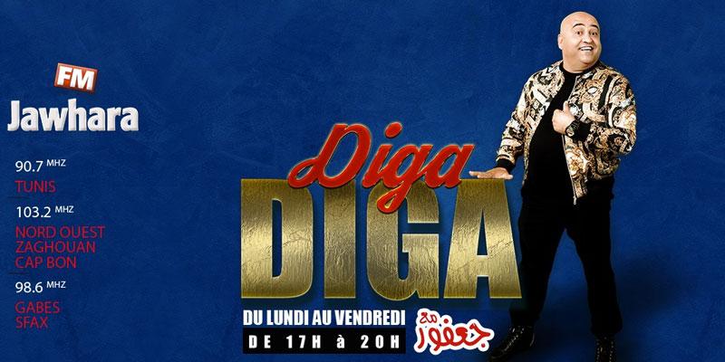 Diga Diga et Jaafer El Guesmi sur Jawhara vise la première place des audiences<