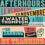 Event Afterhours à JWT Tunis ce vendredi 13 novembre