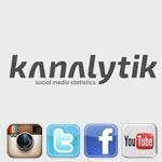 Découvrez Kanalytik, l'outil qui fait parler les chiffres de vos Réseaux Sociaux …