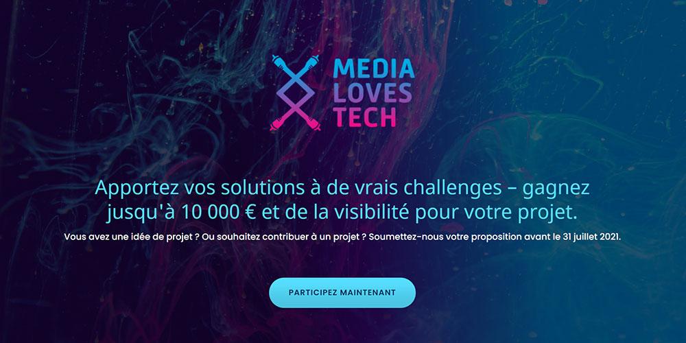 Media loves Tech 2021 : Lancement de la 4ème édition!