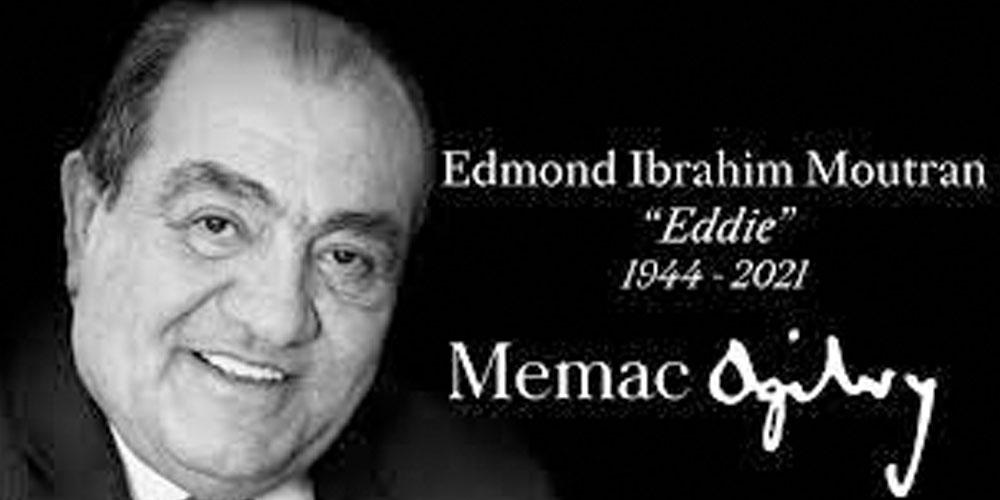 Edmond Moutran fondateur de Memac Ogilvy n'est plus<