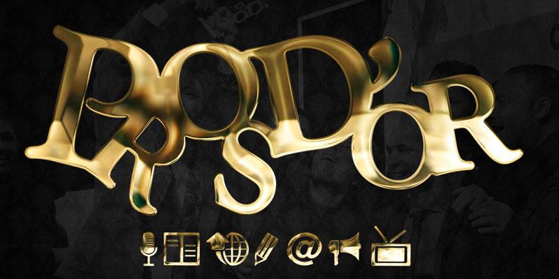 Les catégories des Pros d'Or pour le 9 février 2019