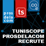PROSDELACOM / TUNISCOPE recrute