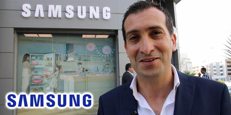 En vidéo : Azer Jaafoura présente le retour en force de Samsung sur le grand Tunis