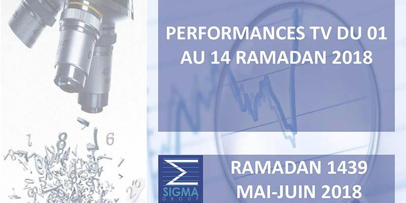 PERFORMANCES TV du 01 au 14 Ramadan 2018