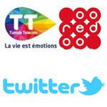 La réponse de Tunisie Telecom aux voeux de Ooredoo sur Twitter