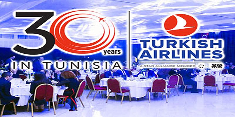 En vidéo : La Turkish Airlines célèbre ses 30 ans en Tunisie