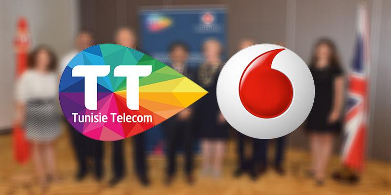 Partenariat entre Tunisie Telecom et Vodafone