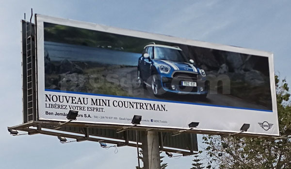 Campagne MINI COUNTRYMAN - Mai 2017