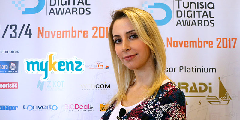 Conférence TDA : Interview de Mme. Nouha Mokni fondatrice Mykenz.net