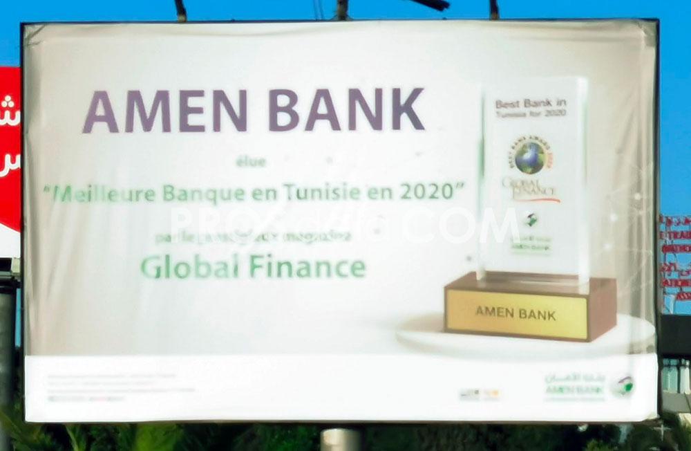 Campagne Amen Bank - Juillet 2020