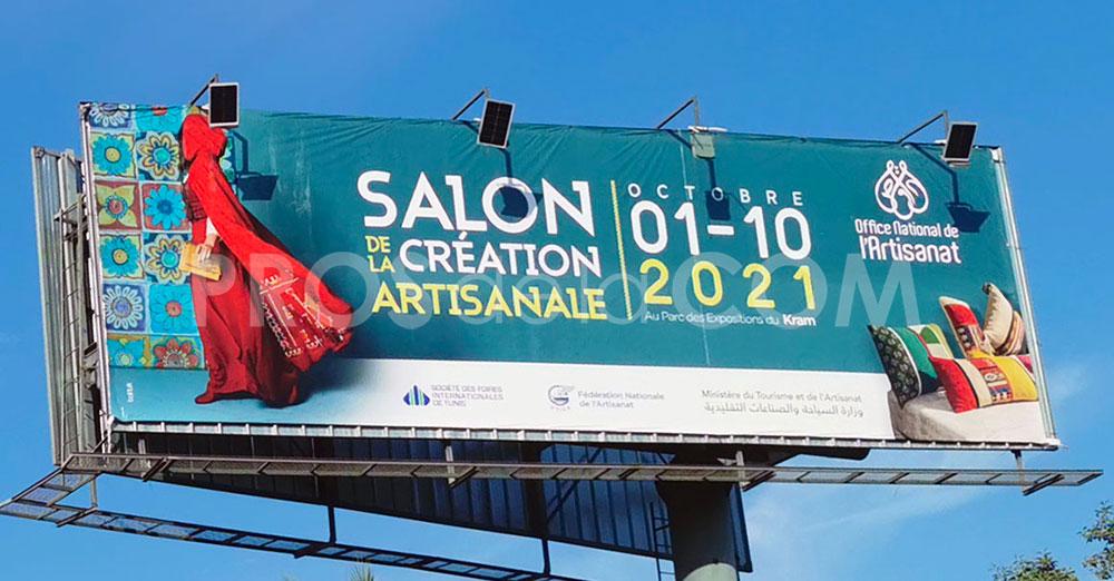 Campagne Salon de la création artisanale - Octobre 2021