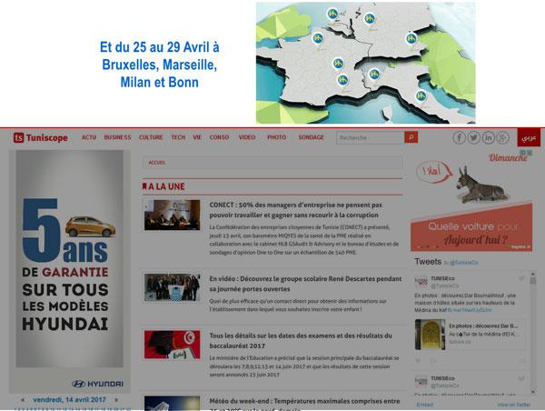 Campagne BANQUE DE L'HABITAT sur TUNISCOPE.com