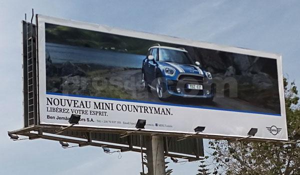 Campagne MINI COUNTRYMAN - Mai 2017