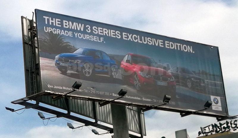 Campagne BMW Serie 3 Novembre 2018