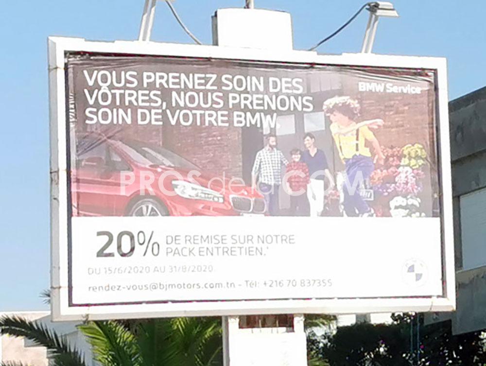 Campagne BMW - Juillet 2020