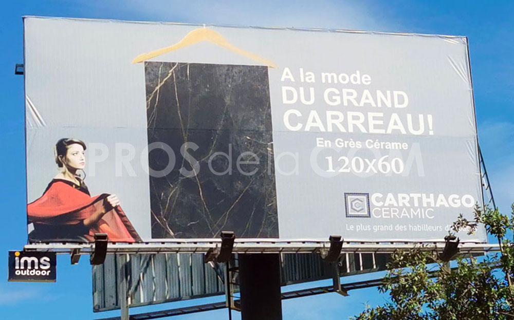 Campagne Carthago Ceramic - Octobre 2021