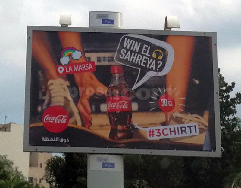 Campagne Coca Cola Novembre 2018