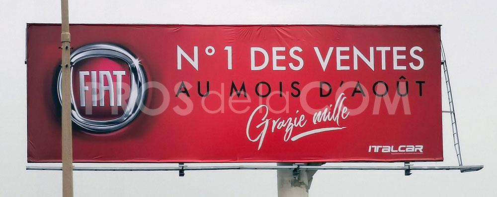 Campagne Fiat - Septembre 2021