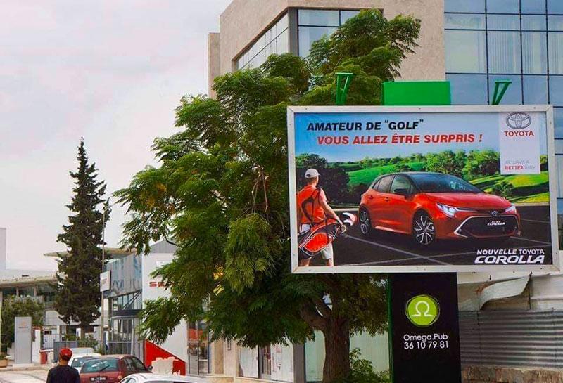 Campagne Toyota Corolla vs Golf
