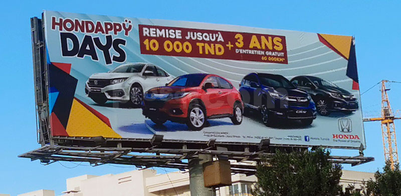Campagne Honda - Janvier 2020