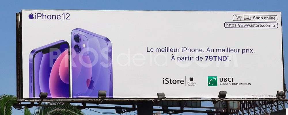 Campagne Iphone 12 - Septembre 2021
