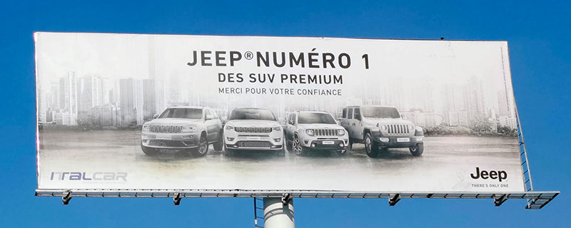 Campagne Jeep - Mars 2020