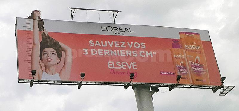 Campagne l'oréal - Novembre 2019