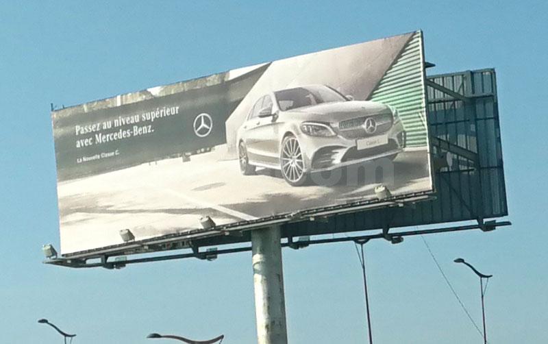 Campagne Mercedes  Novembre 2018