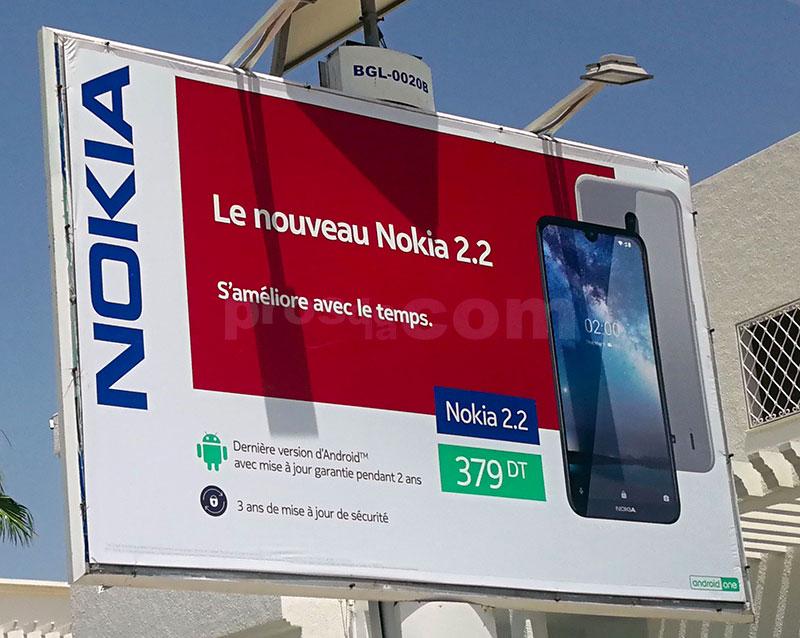 Campagne Nokia - Juillet 2019